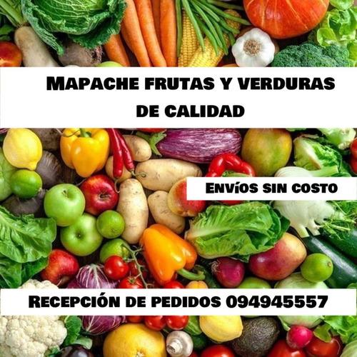 envió de frutas y verduras a domicilio sin costo