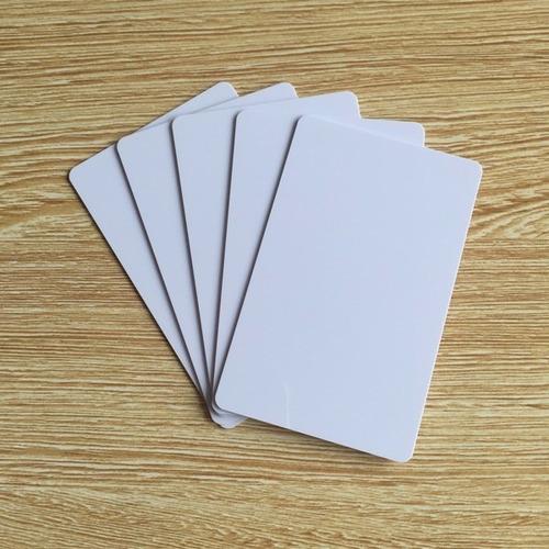 envio gratis 100 tarjetas pvc, credenciales, marca zebra