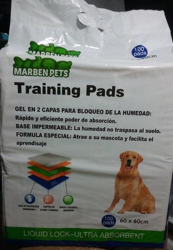 envio gratis 200 pañales sabanillas mascota perros 60x60