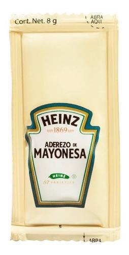envio gratis! 200 sobres de 8 g aderezo de mayonesa heinz