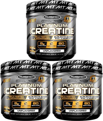 envío gratis a todo chile 3 x creatina muscletech = 1200 gr!