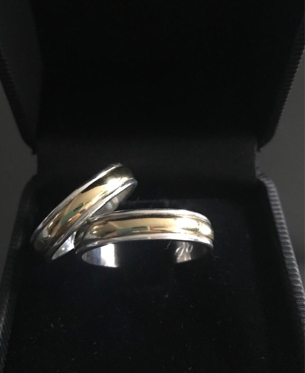 c3beef9649f Envío Gratis !! Alianzas Plata Y Oro-casamiento-compromiso -   1.490 ...