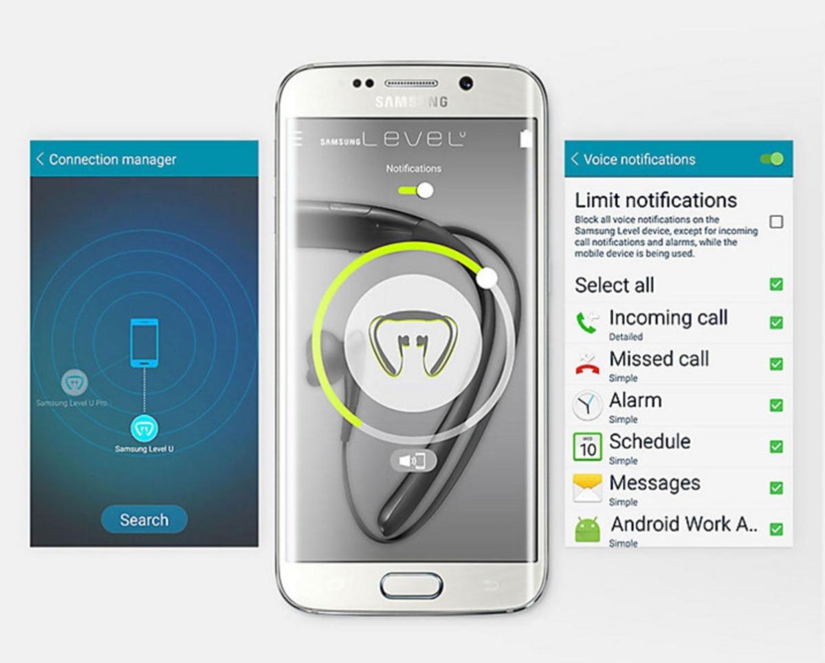 Envo Gratis Auricular Samsung Level U Bluetooth Original 2599 Cargando Zoom
