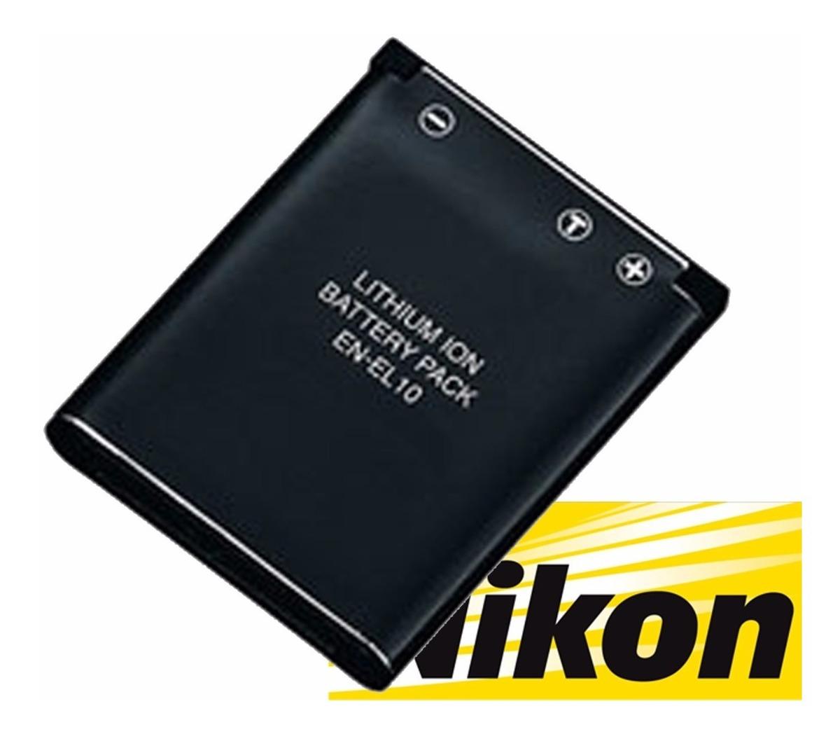 Bateria para Nikon en-el10 Coolpix s700 s510 s 700 510