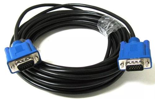 envio gratis!!! cable vga a vga macho 10 metros proyector pc