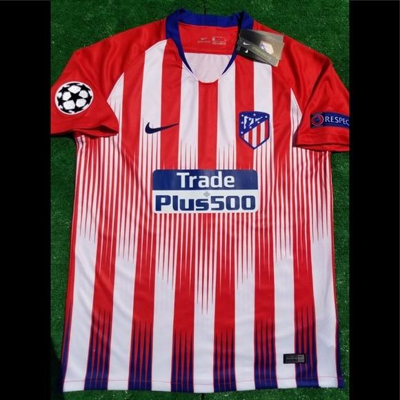 Envio Gratis-camiseta Atletico Madrid Titular 2019 Champions ... e5219a258ec18