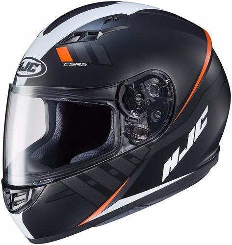 envio gratis casco moto hjc cs-r3 black mc-7sf dot original