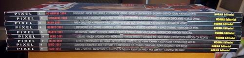 envio gratis coleccion completa pixel diseño gráfico 9 libro