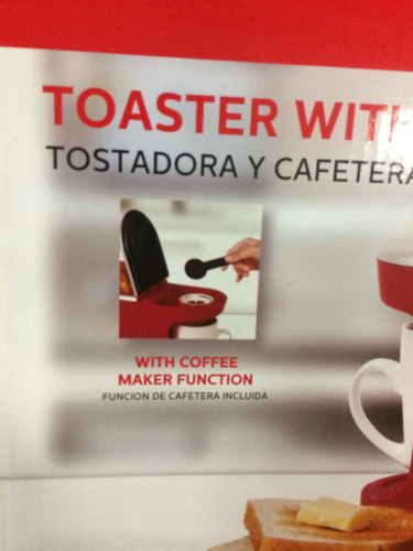 envio gratis combo tostadora de pan y cafetera eléctrica e4f