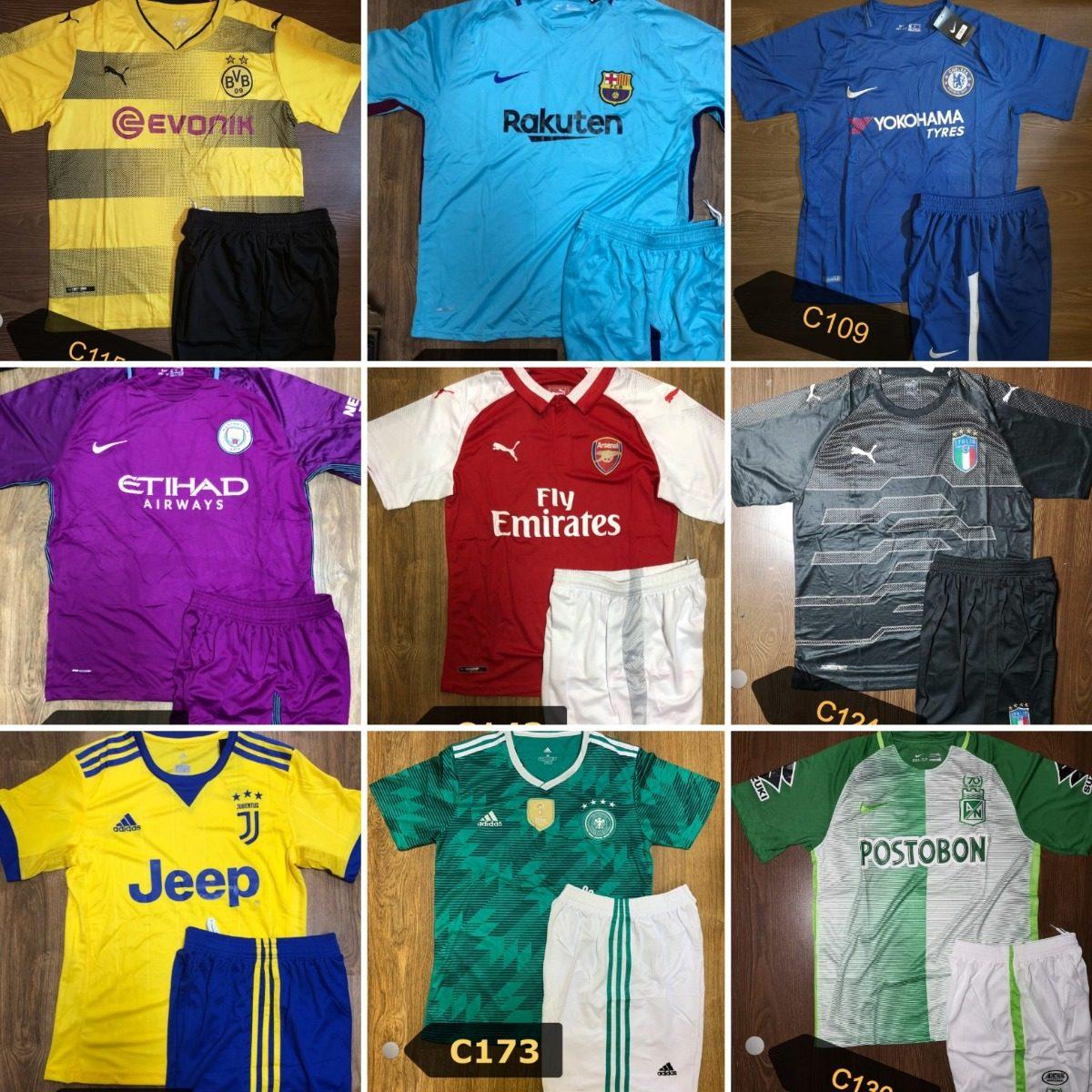 52c13385997cb envio gratis conjuntos de camiseta+short de equipos europeos. Cargando zoom.