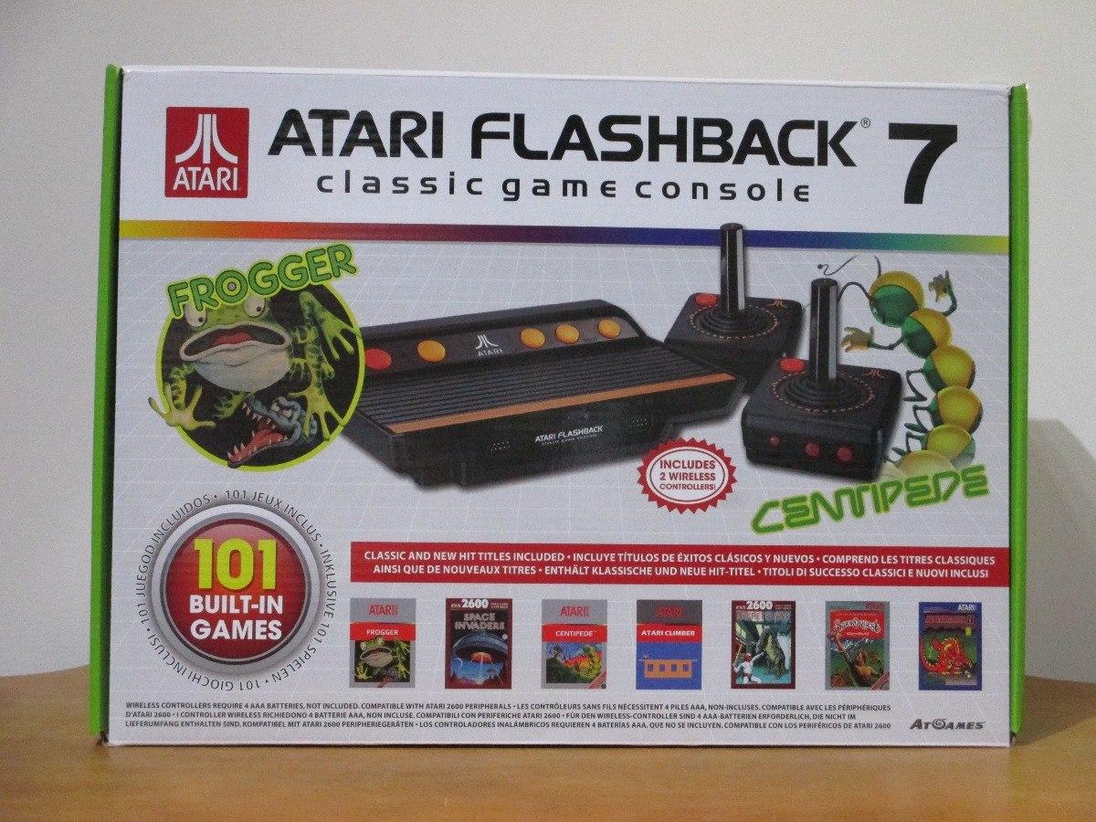 Envio Gratis Consola Atari Flashback 7 101 Juegos Wireless 2 900