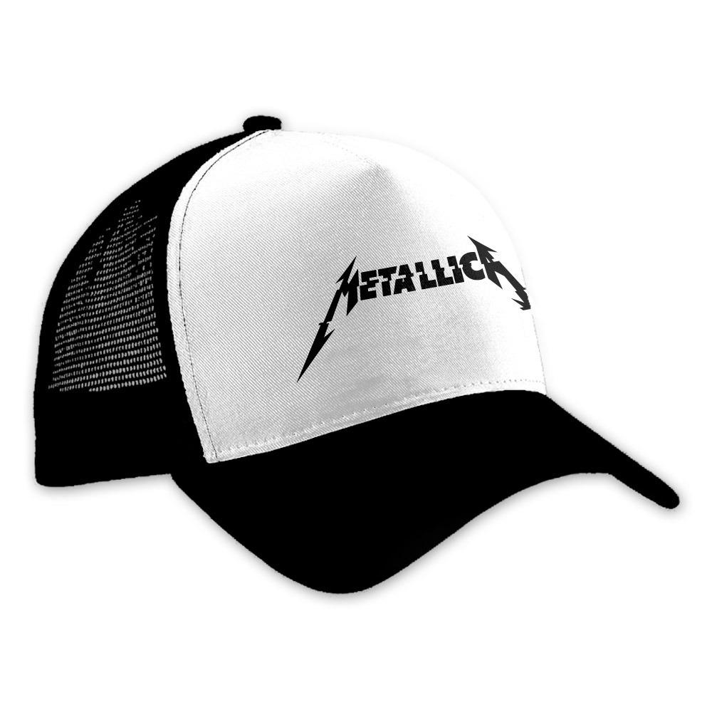 Envío Gratis Gorra Metallica Negro blanco Mod. 2 -   229.00 en ... ef6c8e22eac