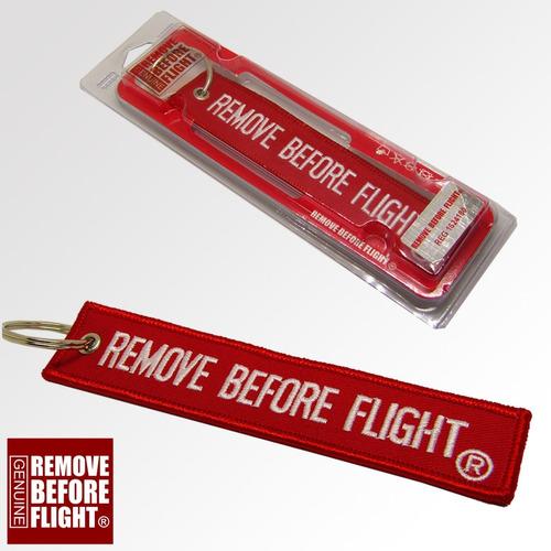 envío gratis llavero & lanyard  remove before flight ®