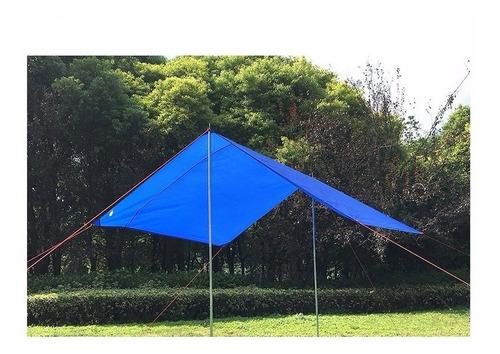 envio gratis lona uso rudo verde 4 x 6 metros truper 16376