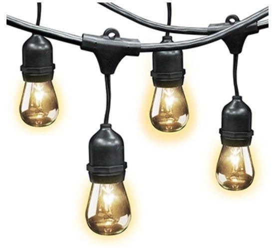 Envio gratis luces en serie para exterior estilo vintage for Luces exterior bombillas