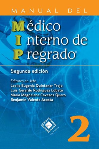 envío gratis. manual del médico interno de pregrado mip 2