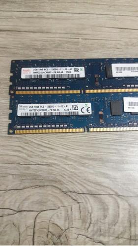 envío gratis!!! memoria ram 2gb 1rx8 pc3 12800u desktop hp
