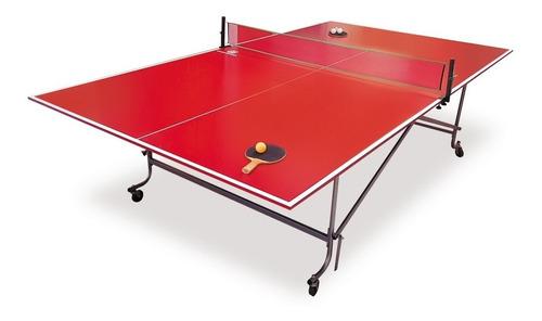 envio gratis mesa de ping pong de tijera - diversiones bago