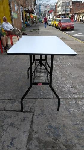 envio gratis!! mesa plegable 60x120 para banquetes eventos