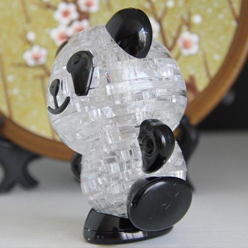 envio gratis panda rompecabezas 3d cristal 53 piezas puzzle