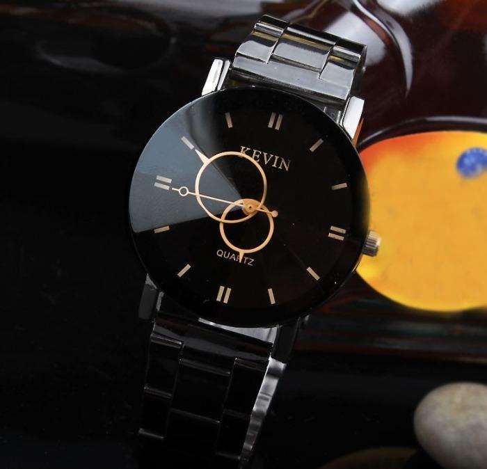 8434d5074e7d Envio Gratis Reloj Para Dama Negro De Metal Kevin Fashion -   350.00 ...