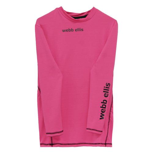 envio gratis - remera termica webb ellis rosa rugby hockey