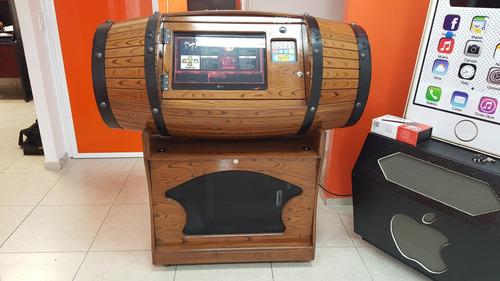 envio gratis rockola de barril con karaoke y videos - bago
