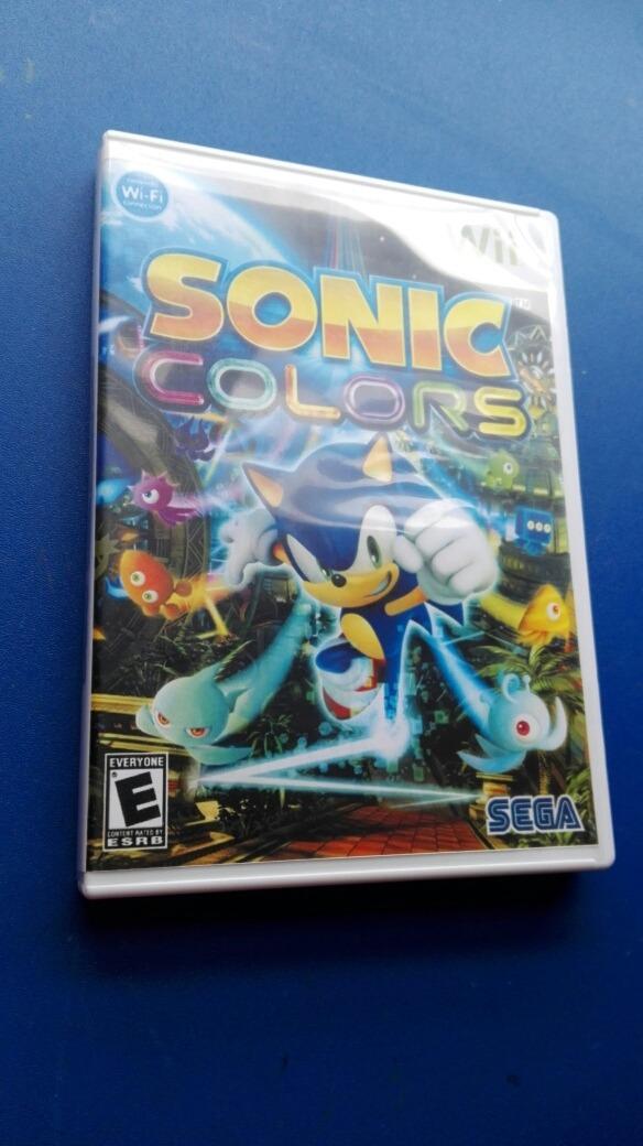 Envio Gratis Sonic Colors Juego Para Nintendo Wii 349 00 En