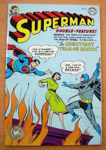 envio gratis superman batman juntos primera aparicion comic