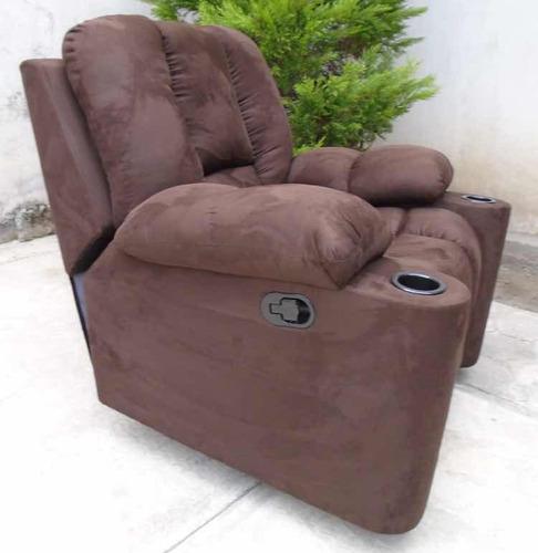 envío inmediato reposet mecedora y reclinable modelo franz
