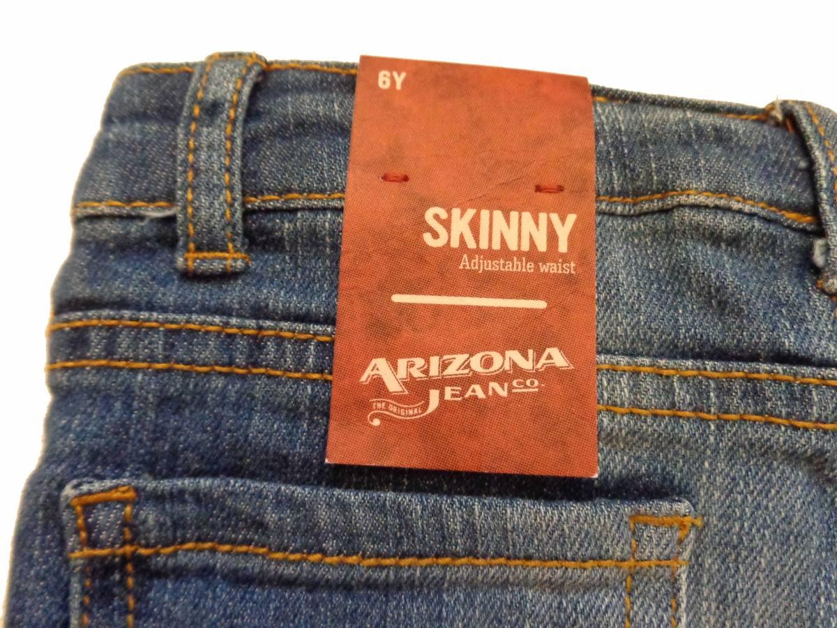 5a6d59b911 Envio Jeans Nina 6 Anos Stretch Pantalones Mezclilla Arizona ...