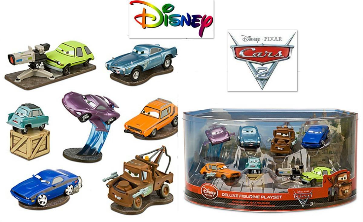 Envio juego juguete cars disney 7 piezas 7 carros nuevo en mercado libre - Juguetes de cars disney ...