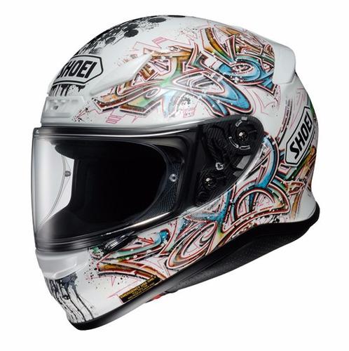 envio+obsequio gratis casco moto shoei rf-1200 graffitti dot