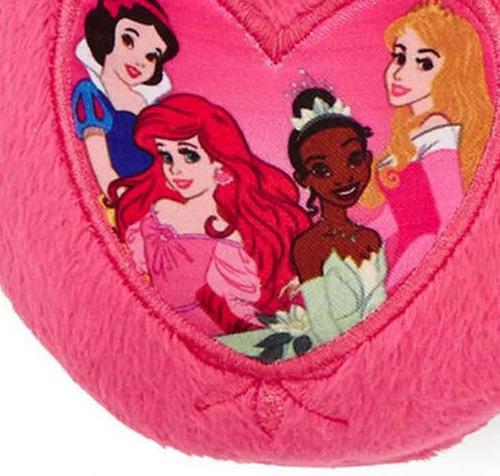 envio pantuflas 16.5 y 18 cms. disney princesas rosas nina