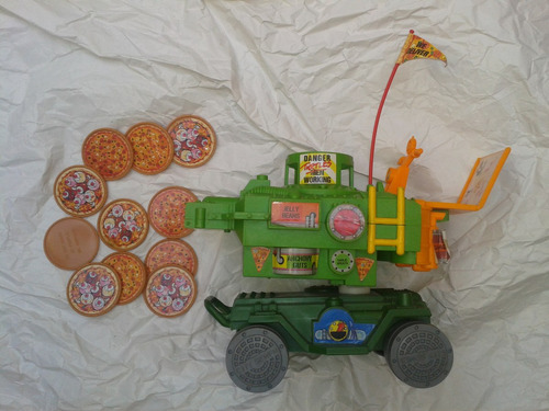 envio todo chile tanque figura tmnt tortugas ninja figura