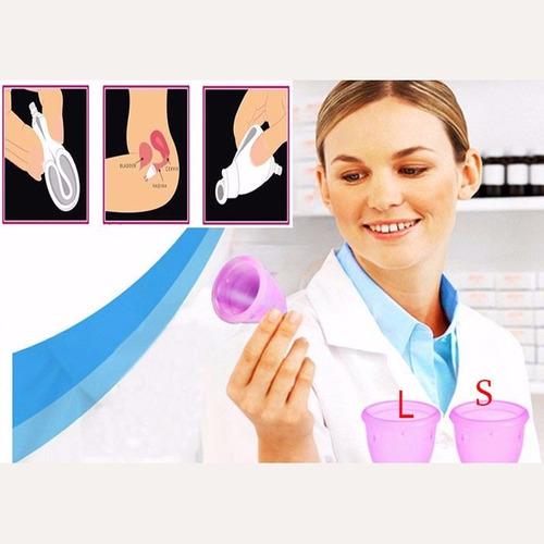 enviogratis copa menstrual talle l reutilizable mestruacion