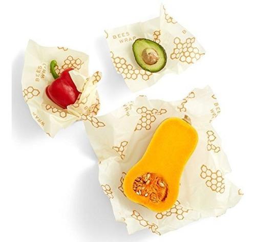 envoltura de abejas surtido de 3 paquetes envolturas de alim