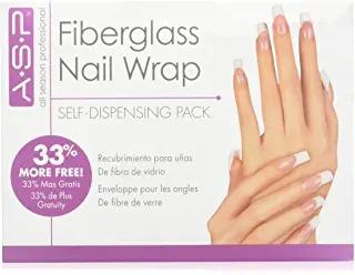 envoltura de uñas de fibra de vidrio asp