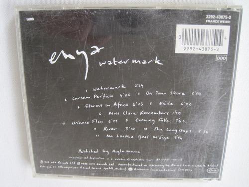 enya watermark cd original 1988 wea records importado newage