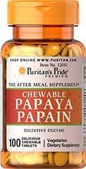 enzimas digestivas de papaya 100 tabletas masticables