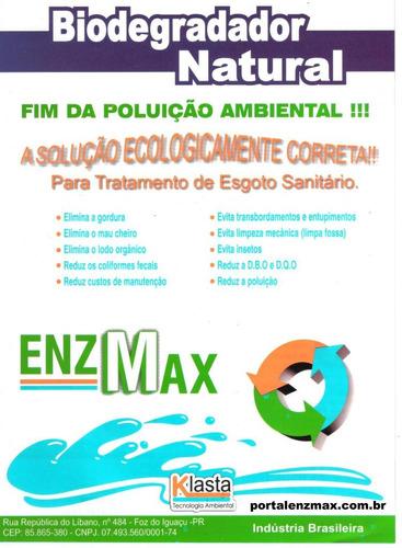 enzmax - 500 grs limpa fossa e caixa de gordura , enzimas
