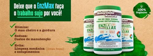 enzmax - 500g  limpa fossa e caixa de gordura , enzimas