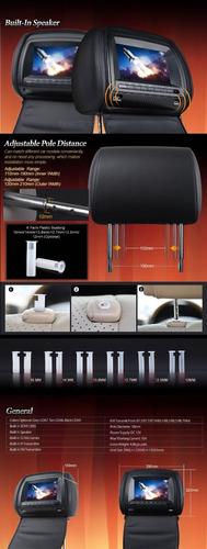eonon apoyacabezas - cabeceros carro 7 pulg. reproductor dvd