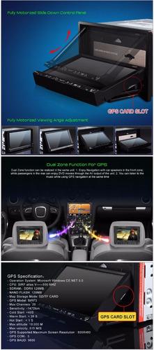 eonon - radio carro pantalla 7 pulg. repr. dvd 2 din - gps