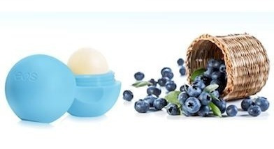 eos lip balm smooth sphere - blueberry açai