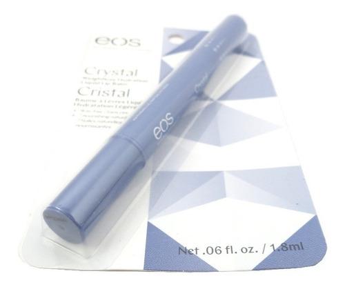 eos liquid lip balm protetor labial hidratante crystal 1,8ml