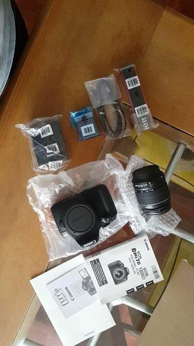 eos rebel t6 canon reflex cámara fotografica nueva 1 lente