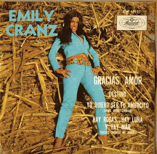 ep de emily cranz. gracias amor 1969 - rock mexicano