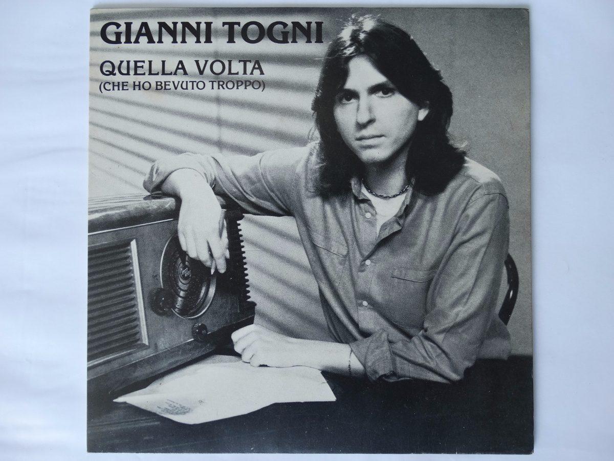 Ep (vinil) Quella Volta 'che Ho Bevuto Troppo Gianni Togni ...