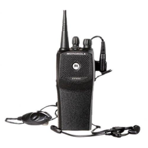 ep450 vhf radio teléfono comunicaciones motorola